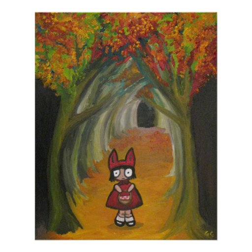 Little Red Riding Wolf Poster