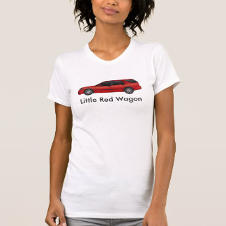Little Red Wagon  - 06 chili red T-Shirt