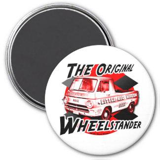 Little Red Wagon 7.5 Cm Round Magnet
