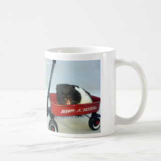 Little Red Wagon Basic White Mug