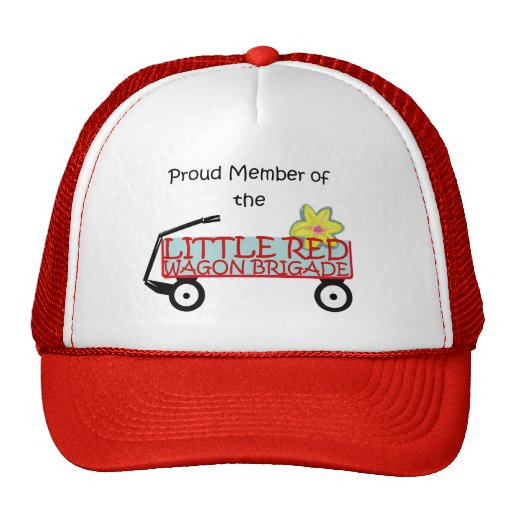 Little Red Wagon Brigade Hats