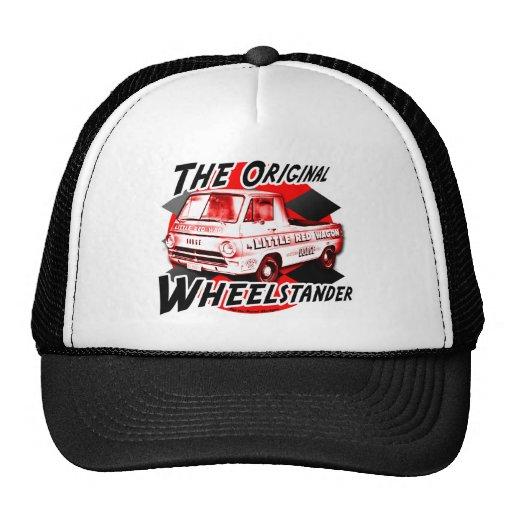 Little Red Wagon design Trucker Hats