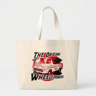 Little Red Wagon design Jumbo Tote Bag