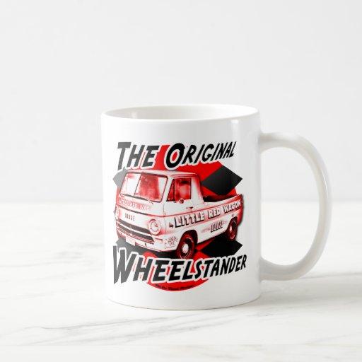 Little Red Wagon design Mugs