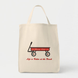 Little Red Wagon Grocery Bag