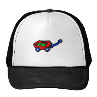 little red wagon mesh hats