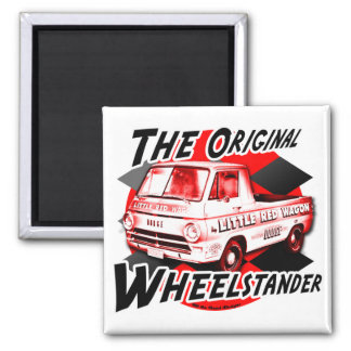 Little Red Wagon Refrigerator Magnet
