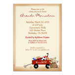 Little Red Wagon Sports Theme Boy Baby Shower