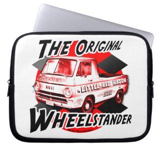 Little Red Wagon the Original Wheelstander Laptop Computer Sleeve