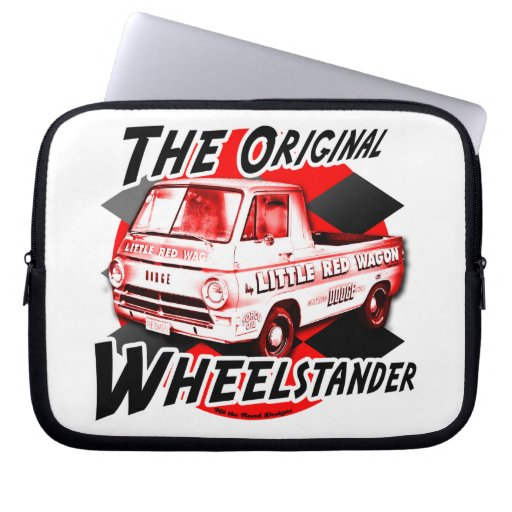 Little Red Wagon the Original Wheelstander Computer Sleeves