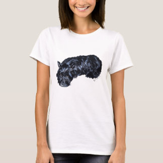 Little Resting Scottie T-Shirt