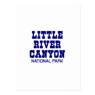 Little River Canyon National Park Post Card
