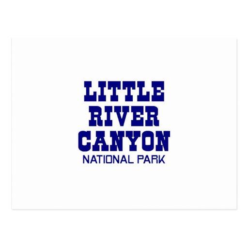 Little River Canyon National Park Postcards