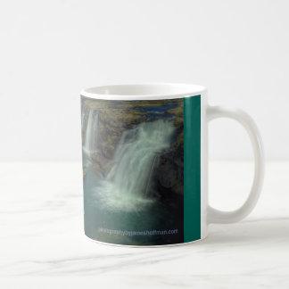 Little River Falls Basic White Mug