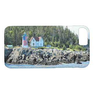 Little River Lighthouse, Maine iPhone Case
