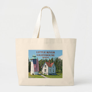 Little River Lighthouse, Maine Tote Bag
