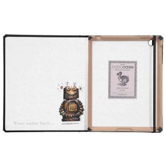 Little Robot iPad Folio Cases