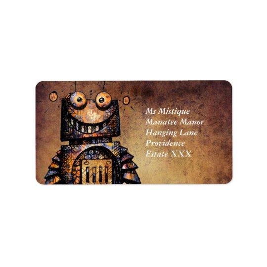 Little Robot Label
