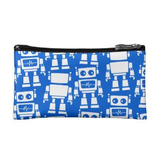 Little robots cosmetic bag