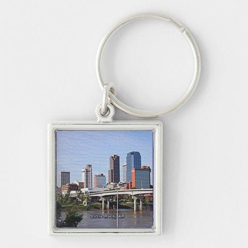 Little Rock, Arkansas Keychain