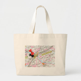 Little Rock, Arkansas Large Tote Bag