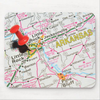 Little Rock, Arkansas Mouse Pad