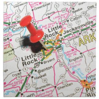 Little Rock, Arkansas Napkin
