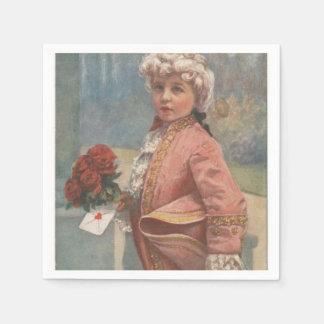"Little Romeo ""To My Valentines"" Disposable Serviette"