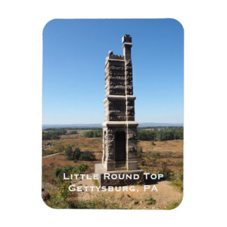 Little Round Top in Gettysburg PA Magnet