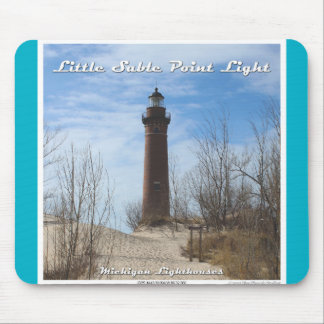 Little Sable Point Light Mouse Pad