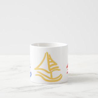 little sailboat mug espresso mug