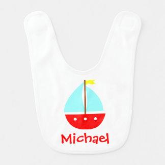 Little Sailboat Bib