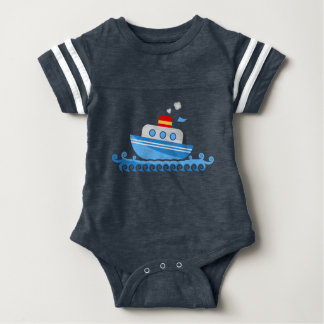 Little Sailor Baby Bodysuit