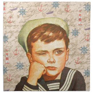 Little sailor napkin