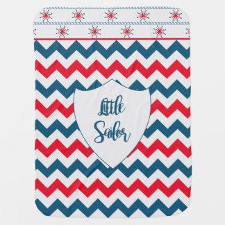 Little Sailor Swaddle Blankets