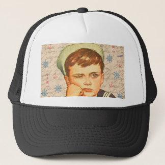 Little sailor trucker hat