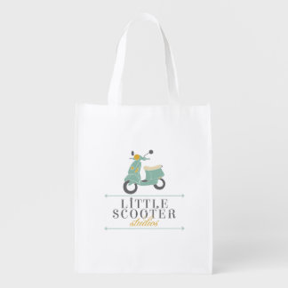 Little Scooter Studios Grocery Bag