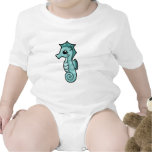 Little Seahorse Baby Bodysuit