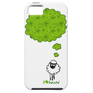 Little sheep dream about Ireland iPhone 5 Cases