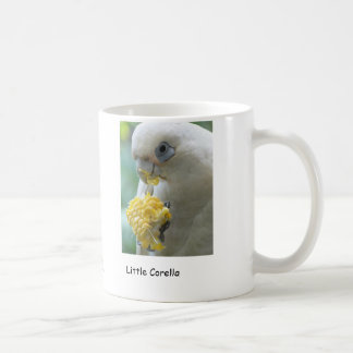 Little (Short Bill) Corella Coffee Mug