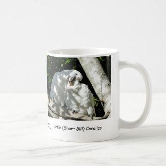Little Short Bill Corellas Coffee Mugs