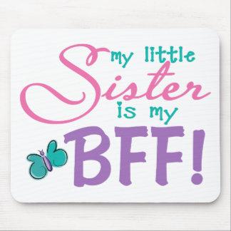Little Sister BFF Butterfly Mousepad