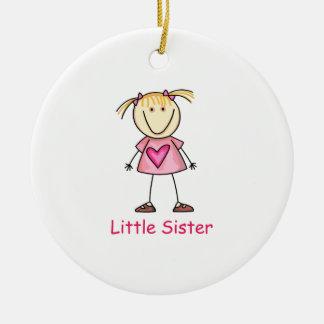 LITTLE SISTER CERAMIC ORNAMENT