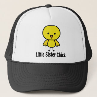 Little Sister Chick Trucker Hat