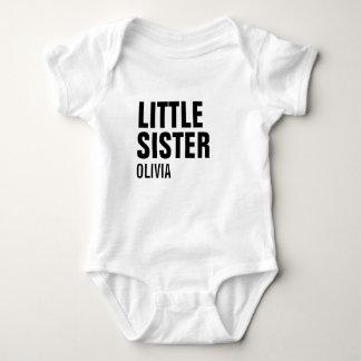 Little Sister Custom Baby Bodysuit