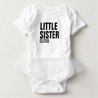 Little Sister Custom Baby Tutu Bodysuit
