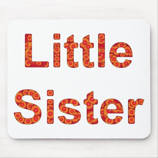 Little Sister Design 2 Mouse Pads