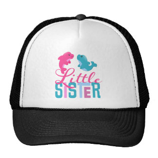 Little Sister Dolphins Hat