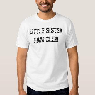 LITTLE SISTER FAN CLUB TSHIRTS