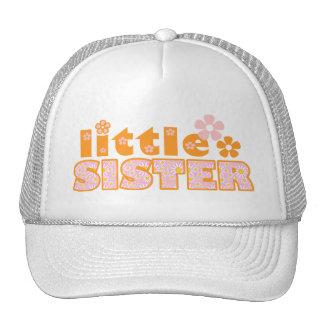 Little Sister Flowers Mesh Hat